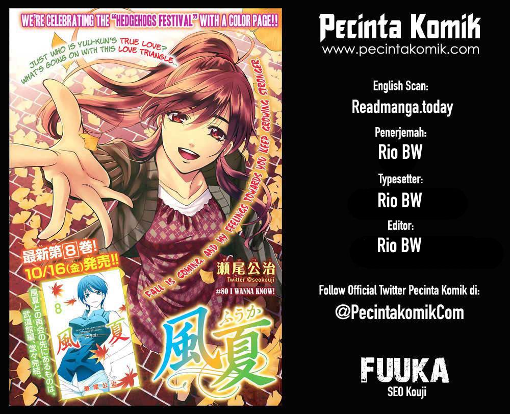 Fuuka Chapter 129-1