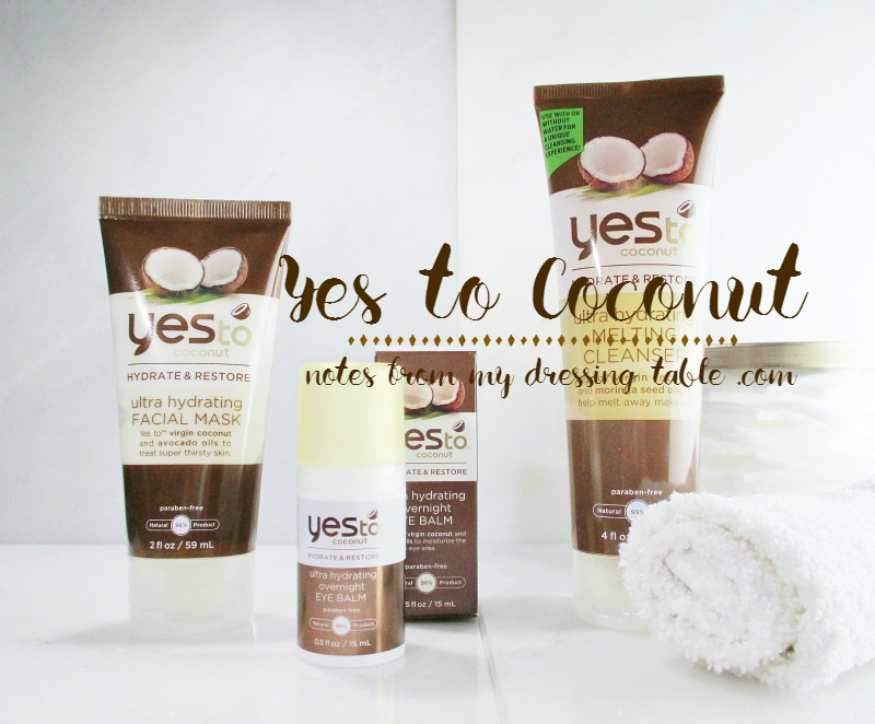 Yes To Coconut Is Dry Skin Care On A Budget-notesfrommydressingtable.com