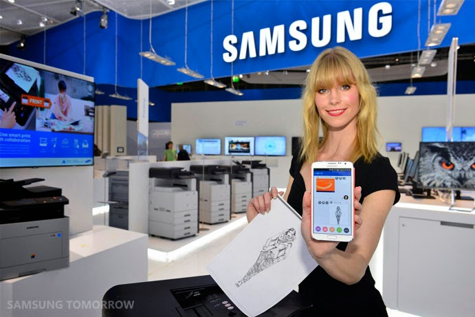 Samsung Print Solutions, Printing from your smartphone, Samsung, NFC technology, Print for SME,