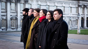 Trinity Laban Gold Medal Showcase - Iyad Alsughair, Georgina Bowden, Emily Gray, Ana Rodriguez Moran, Jordi Morrell, Ben Vize (Photo Juno Snowden)