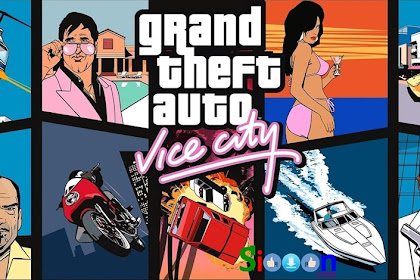 Download Games Grand Theft Auto Vice City Full Version For PC Laptop