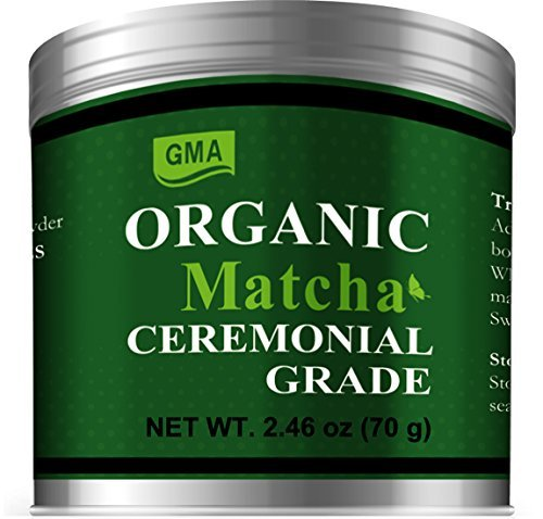 GMA Organic Matcha Ceremonial Grade Green Tea Powder