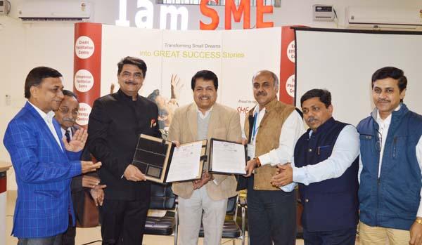आईएमएसएमई आफ इंडिया ने अपने सदस्यों के लिये वित्तीय सहायता स्कीम के तहत एमओयू साईन : राजीव चावला