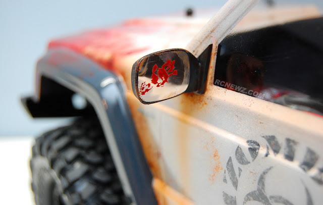 Traxxas TRX-4 zombie