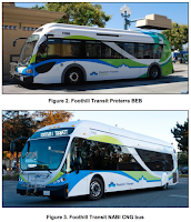 Foothill Transit Proterra battery electric and CNG-powered buses (Credit: Foothill Transit) Click to Enlarge.