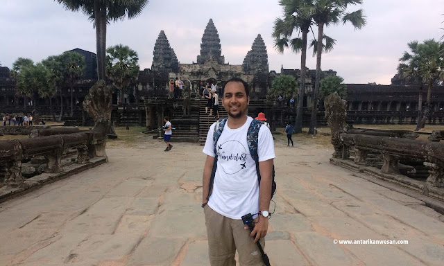 Early morning visit to Angkor Wat, Siem Reap, Cambodia
