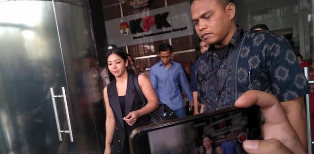 Dua Anak Novanto Bungkam Usai Digarap Penyidik