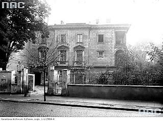 Pałac Pusłowskich - 1933