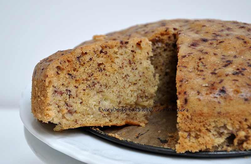 Steamed Moist Banana Cake Recipe