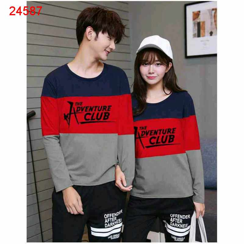 Jual Sweater Couple Sweater Adventure Navy - 24587