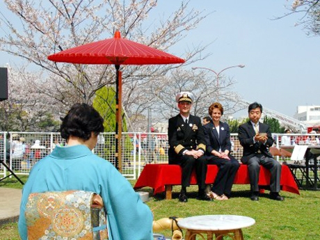 Yokosuka Spring Festa at USA Naval Base, Kanagawa