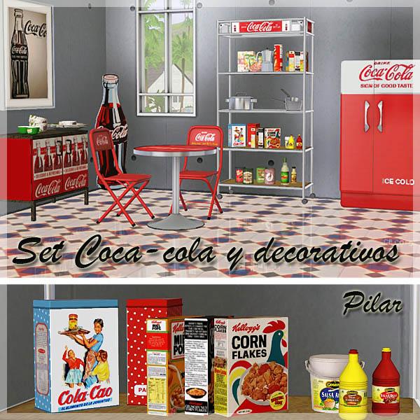Coca Cola Bathroom Decor: My Sims 3 Blog: Coca Cola Set By Pilar