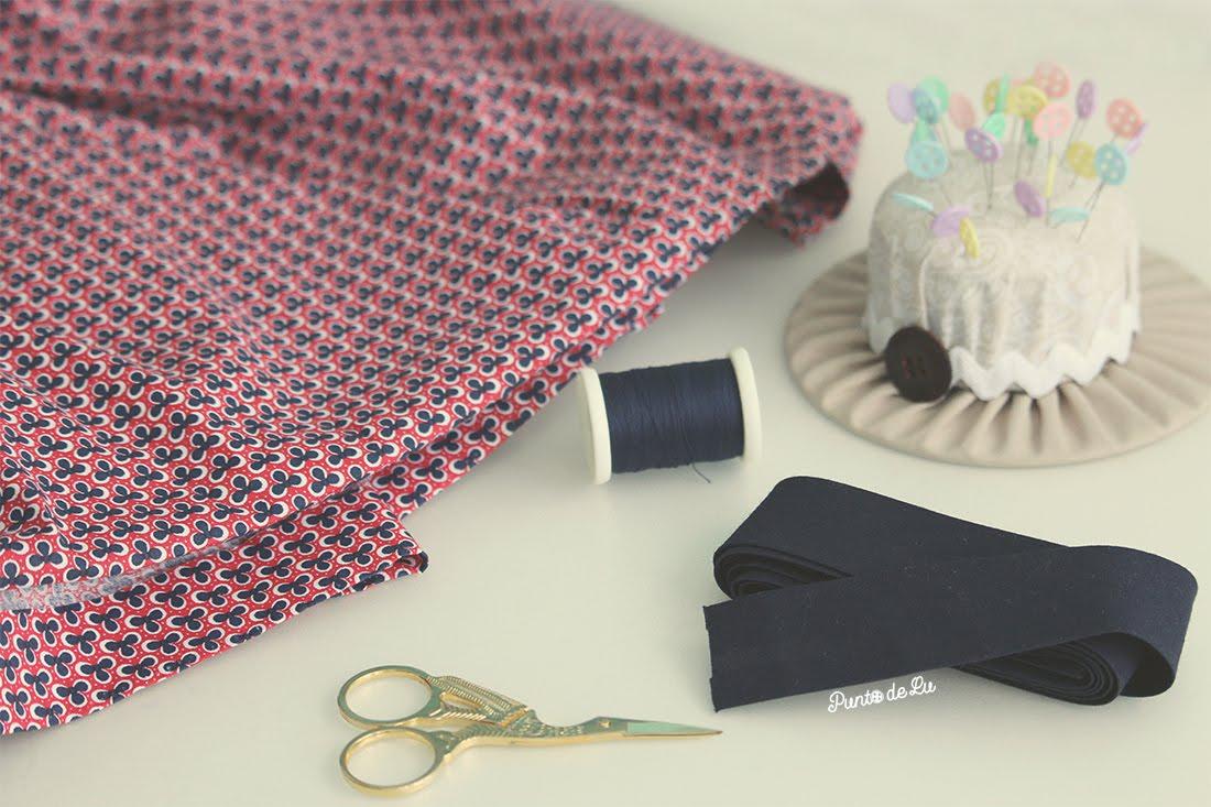 Cómo aumentar el largo de las prendas dobladillo postizo Materiales