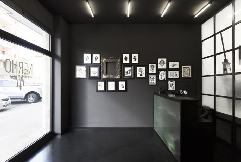 Il progetto di Studio DiDeA  per uno studio di tatuaggi