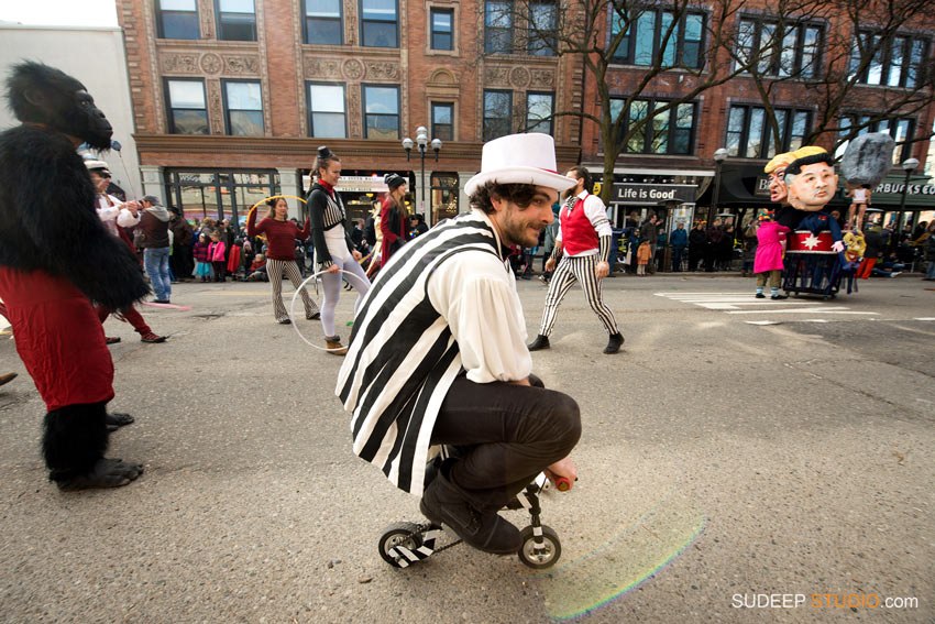 Ann Arbor Festifools Worlds Smallest Bicycle - SudeepStudio.com Ann Arbor Event Photographer
