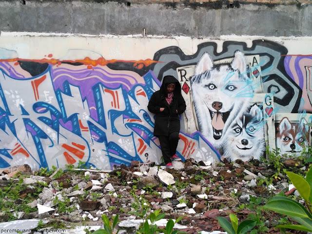 artis mural kota medan