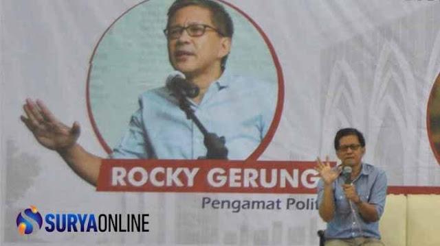 Rocky Gerung: Kampus Disterilkan Karena Capres Takut Didebat Mahasiswa