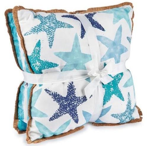 Outdoor Coastal Pillow Sets