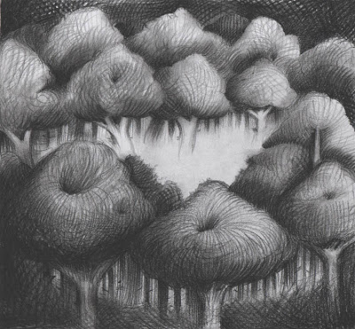 Rens Krikhaar Untitled, 2011 negropencil on paper 20 x 22 cm