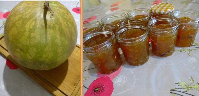 recette confiture melon d'Espagne