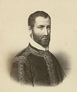 Giovannelli was influenced by Giovanni Pierluigi da Palestrina (above), whom he succeeded at St Peter's