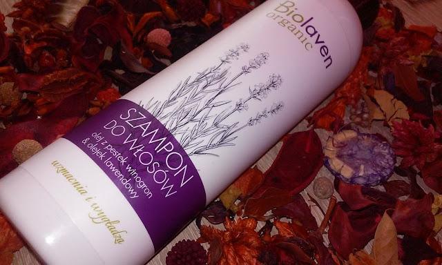 Biolaven - szampon z olejem winogronowym i lawendą - czyżbym znalazła ideał? :)