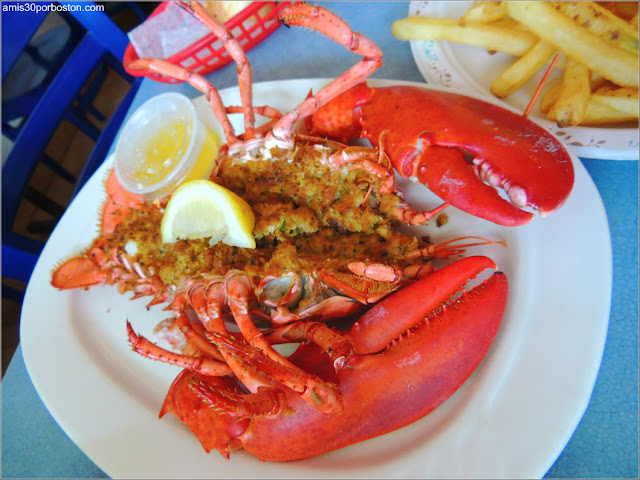 Petey's Summertime Seafood and Bar: Baked Stuffed 1 1/2 Lb. Lobster Dinner $43.99