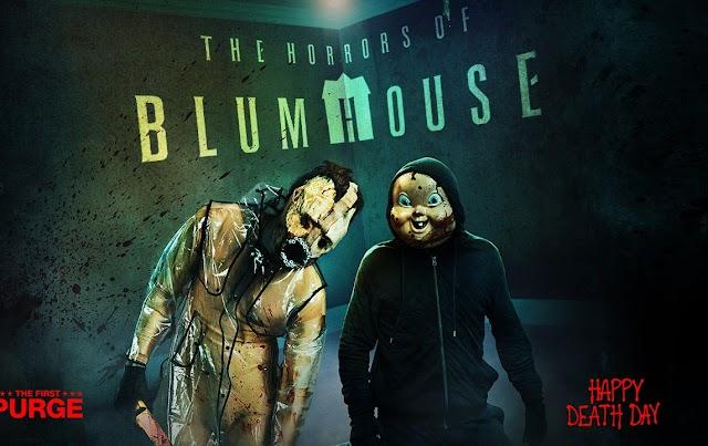 """The Horrors of Blumhouse"" retornam ao Halloween Horror Nights do Universal Studios"
