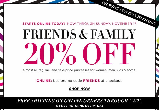 74b2c6d163e88 This time around, the friends and family discount has a lot fewer  exclusions and can be applied towards many luxury designers, including Giuseppe  Zanotti ...