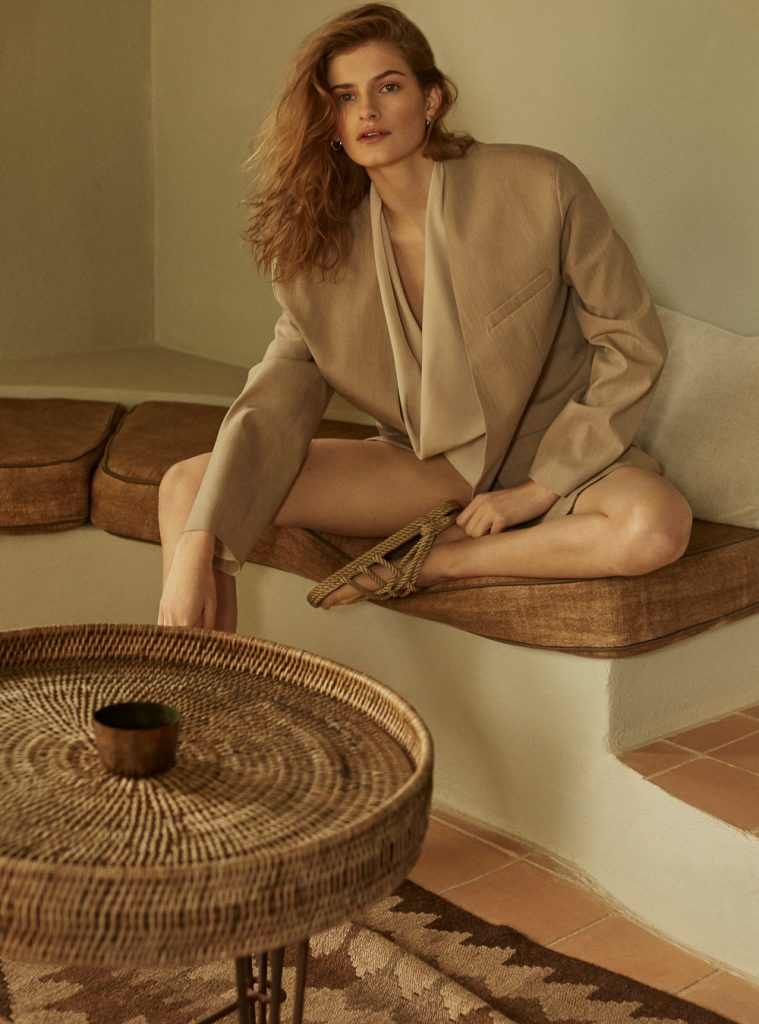 Agata Pospieszynska for Harper's Bazaar Spain with Signe Veiteberg