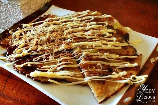 Okonomiyaki at Lee Hak Buffet