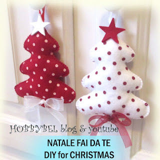 Hobbybel creativit tutorial decorazioni di natale fai for Decorazioni per cucina fai da te