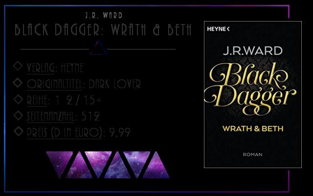[Rezension] Black Dagger: Wrath & Beth (Doppelband von Nachtjagd und Blutopfer) - J.R.Ward