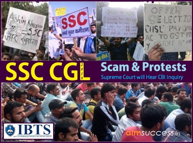 SSC CGL 2018 Scam & Protests - Supreme Court will Hear CBI Inquiry Plea!