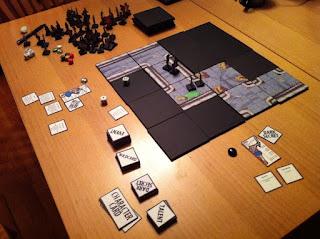 Katana Schoolgirls vs Zombie Furries game table