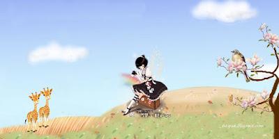 Cartoon Wallpaper,การ์ตูนสาวน้อย แสนสวย น่ารัก ชุดที่5-3
