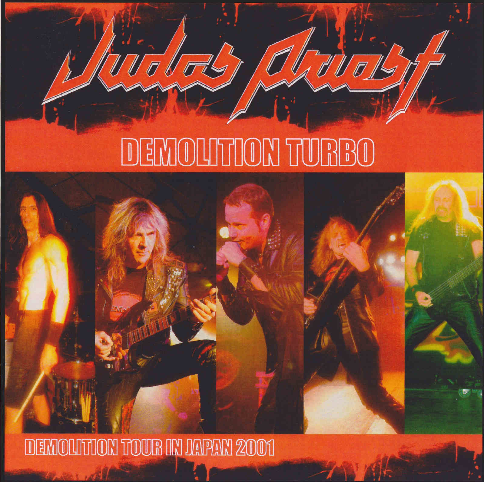 Judas Priest Demolition Turbo Zepp Fukuoka Fukuoka