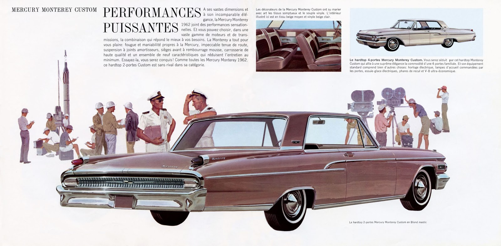 1962 Mercury Monterey - Vintage Cars Ads