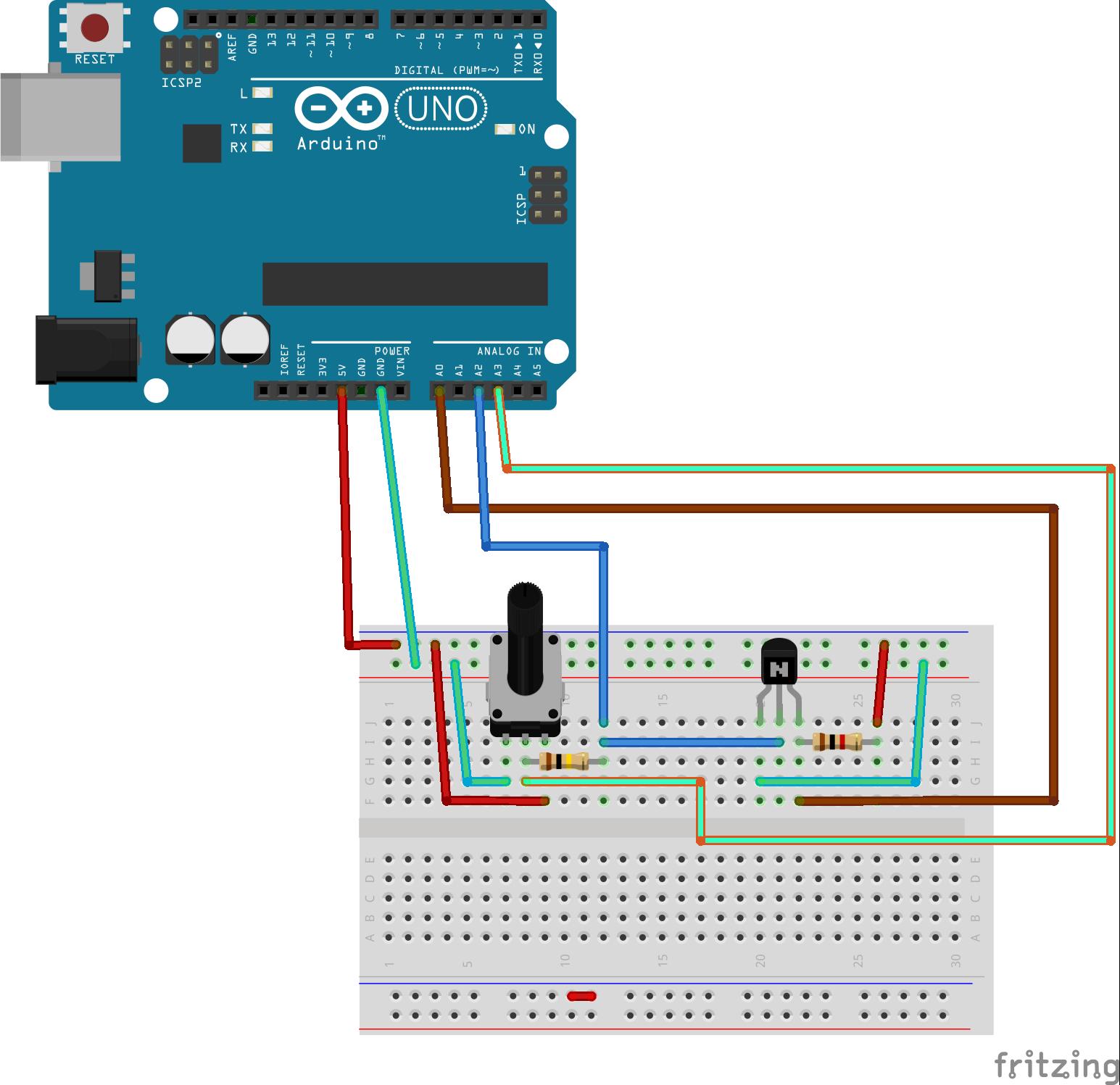 Diy Iv Curve Tracer Circuit Oscilloscope Ioblocks Build A Simple Transistor Using An Arduino