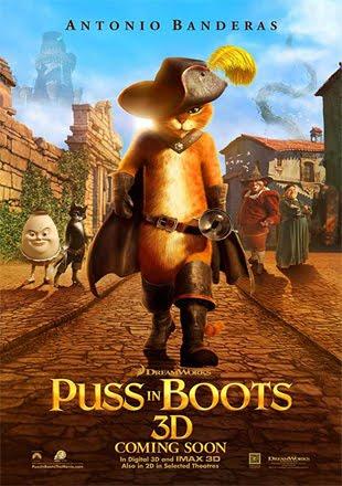 Puss In Boots 2011 BRRip 720p Dual Audio In Hindi English ESub