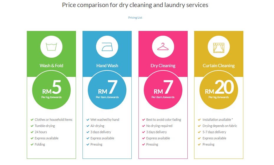 Mama Wosh Laundry Service Pick Up and Delivery in KL & PJ! — mobile