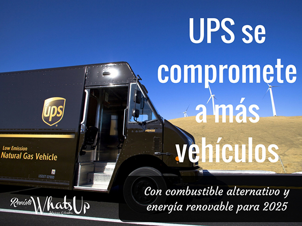 UPS-vehículos-combustible-alternativo-energía-renovable-2025