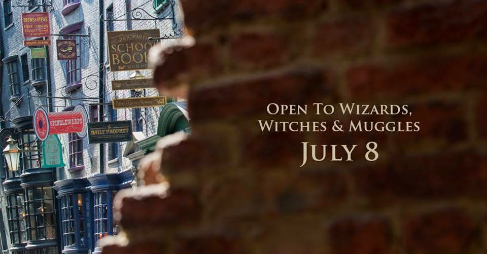 Wizarding World of Harry Potter - Diagon Alley will open July 8