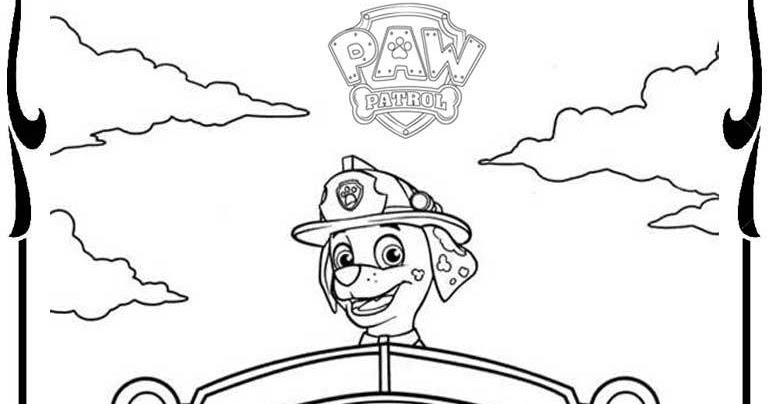 Paw Patrol Coloring Pages Realistic Coloring Pages