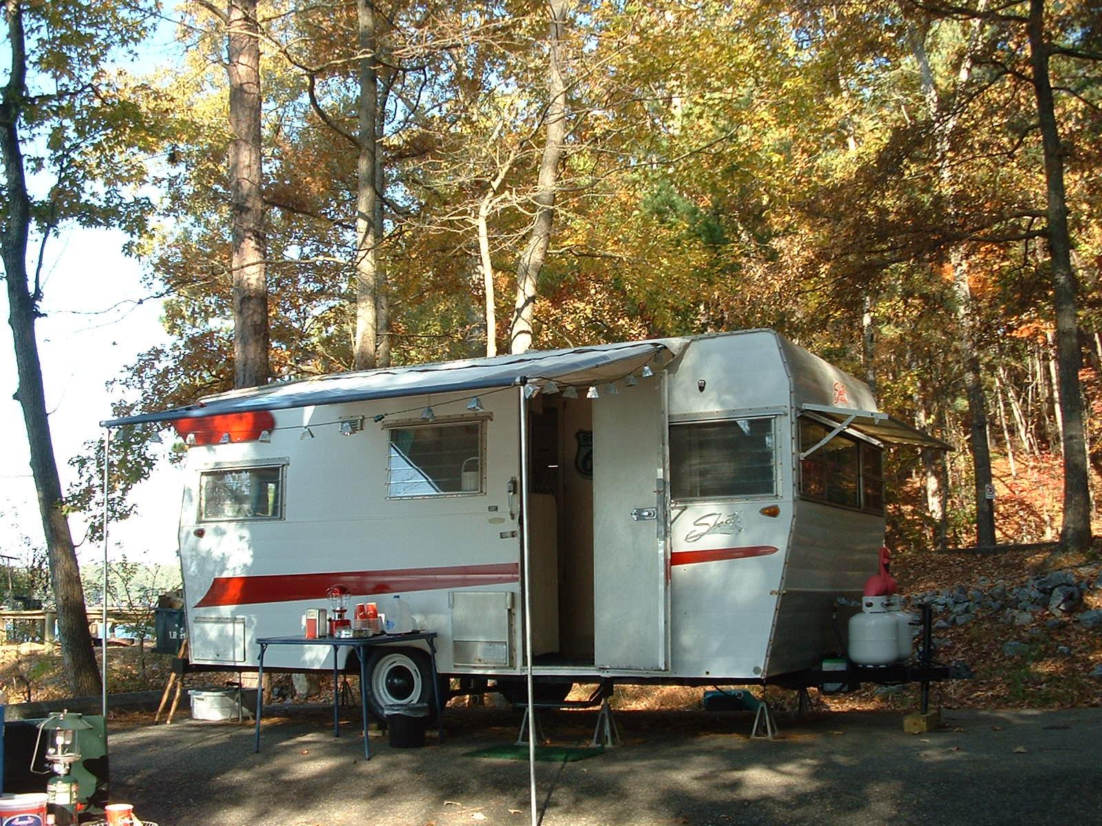 Vintage Awnings: Shasta and Airstream Gathering at ...