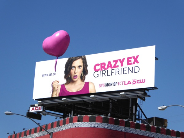 Crazy Ex-Girlfriend special 3D balloon billboard