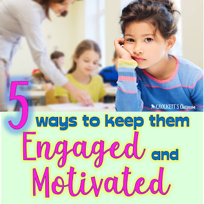 As the school year winds down, it's not easy to keep your kids engaged and motivated to keep learning.  Here are 5 ways to keep them going until the very end.