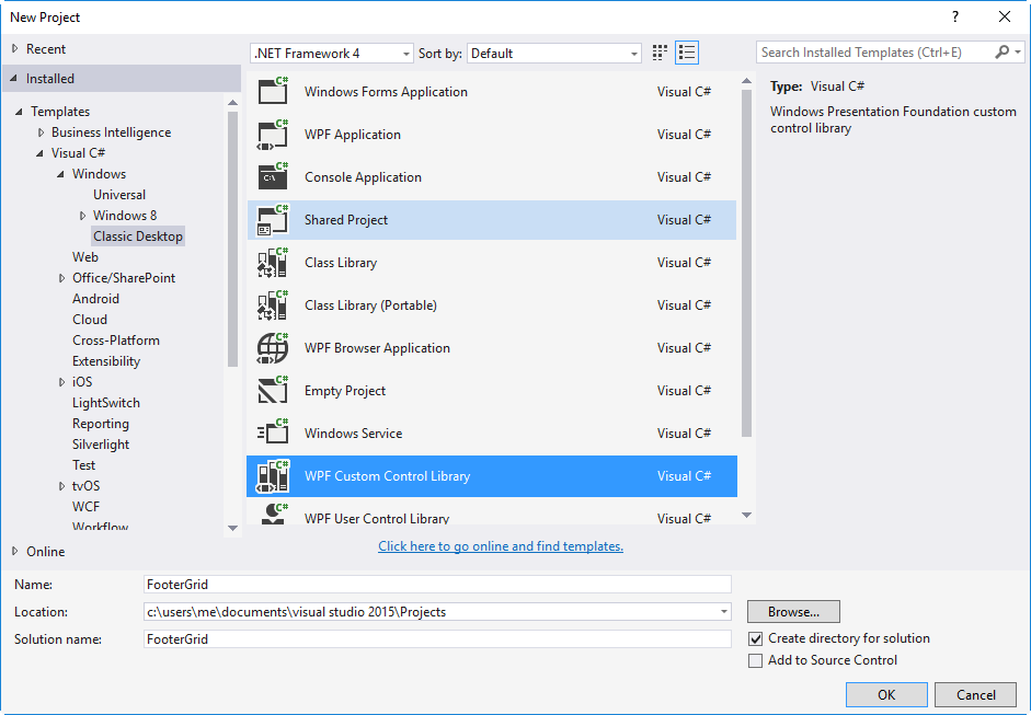 WPF Thoughts: Editable DataGrid with footers as a custom control