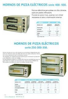 Hornos Pizzas electricos,