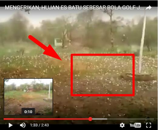 Video Detik-Detik Hujan Badai Es Batu Seukuran Bola Golf Di Myanmar. Video Yang  Terjadi Di April Ke...
